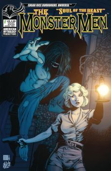 American Mythology Productions The Monster Men: Soul of the Beast #1 Cover B by Mike Wolfer