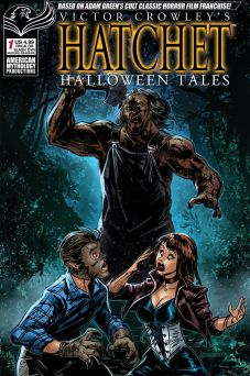 American Mythology Productions Victor Crowley's Hatchet Halloween Tales #1 Cover C by Richard Bonk