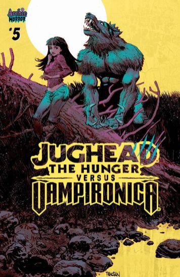 Archie Comics Jughead The Hunger vs Vampironica #5 Cover C by Dan Panosian