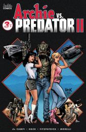 Archie Comics Archie vs Predator II #3 Cover A by Robert Hack