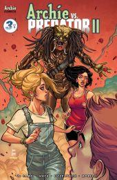 Archie Comics Archie vs Predator II #3 Cover B by Laura Braga