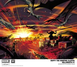 Boom! Studios Hellmouth #1 Preview Pages 2 & 3