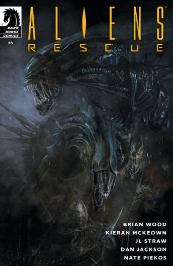 Dark Horse Comics Aliens: Rescue #4 Cover A by Roberto De La Torre