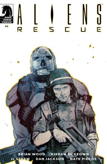 Dark Horse Comics Aliens: Rescue #4 Cover B by Mack Chater