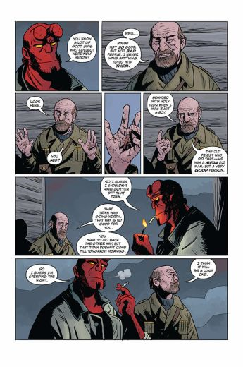 Dark Horse Comics Hellboy and the B.P.R.D.: Long Night at Goloski Station One-Shot Preview Page 5