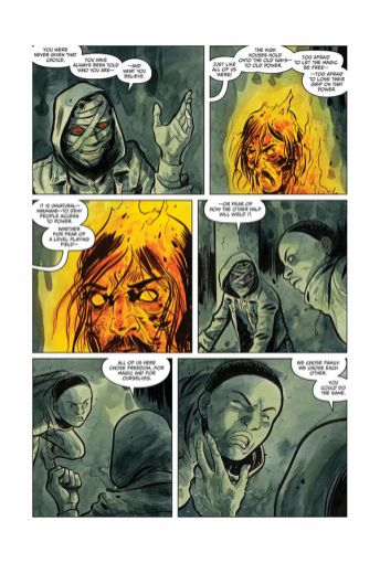 Dark Horse Comics Manor Black #4 Preview Page 5
