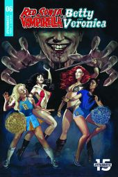 Dynamite Entertainment Red Sonja & Vampirella Meet Betty & Veronica #6 Cover A by Fay Dalton