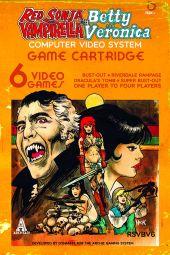 Dynamite Entertainment Red Sonja & Vampirella Meet Betty & Veronica #6 Cover B by Robert Hack