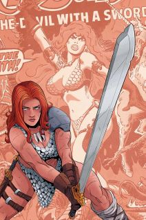 Dynamite Entertainment Vampirella/Red Sonja #2 Cover F (Virgin) by Drew Moss