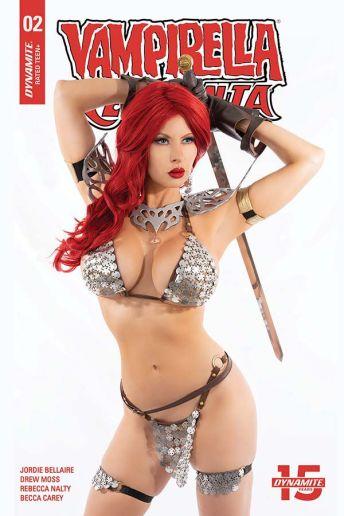 Dynamite Entertainment Vampirella/Red Sonja #2 Cover F (Cosplay)