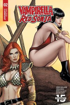Dynamite Entertainment Vampirella/Red Sonja #2 Cover G by Frank Cho