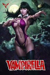 "Dynamite Entertainment Vampirella Vol. 5 #4 Cover A (Foil) by Stanley ""Artgerm"" Lau"