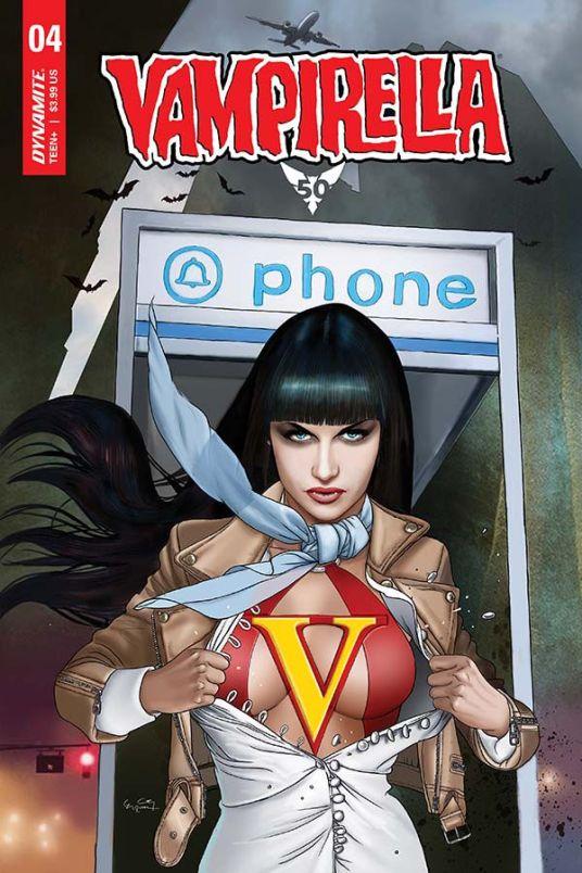 Dynamite Entertainment Vampirella Vol. 5 #4 Cover D by Ergun Gunduz