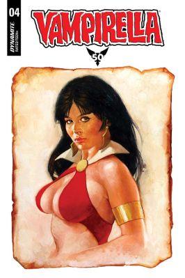 Dynamite Entertainment Vampirella Vol 5. #4 Cover by SanJulian