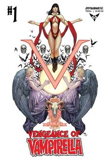 Dynamite Entertainment Vengeance of Vampirella Cover B by Frank Cho