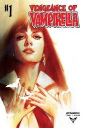 Dynamite Entertainment Vengeance of Vampirella Cover C by Ben Oliver