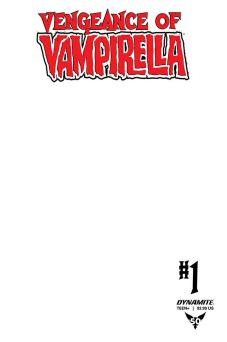 Dynamite Entertainment Vengeance of Vampirella Cover E (Blank Authentix)