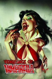 Dynamite Entertainment Vengeance of Vampirella Cover A (Fake Foil) by Joshua Middleton