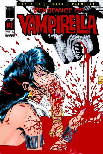 Dynamite Entertainment Vengeance of Vampirella Cover (Replica) by Quesada