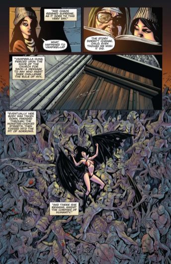 Dynamite Entertainment Vengeance of Vampirella Preview Page 4