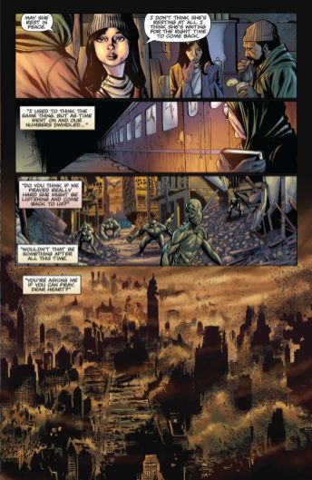 Dynamite Entertainment Vengeance of Vampirella Preview Page 5