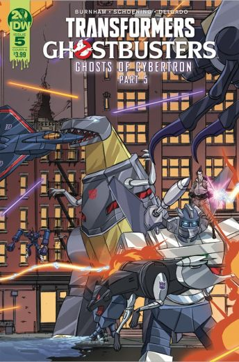 IDW Publishing Transformers Ghostbusters #5 Cover A by Dan Schoening