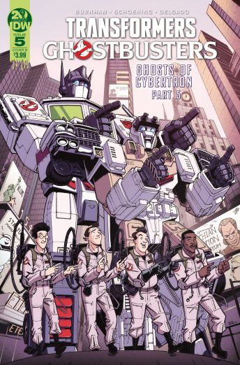 IDW Publishing Transformers Ghostbusters #5 Cover B by Nick Roche