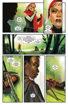 Image Comics Die #8 Preview Page 3