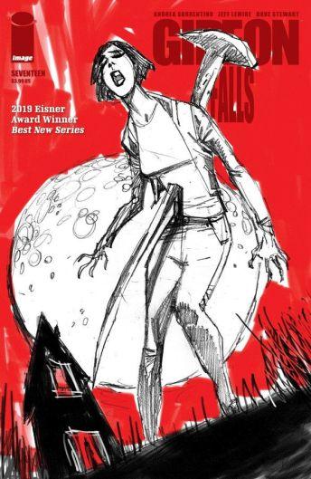 Image Comics Giedon Falls #17 Cover B by John McCrea