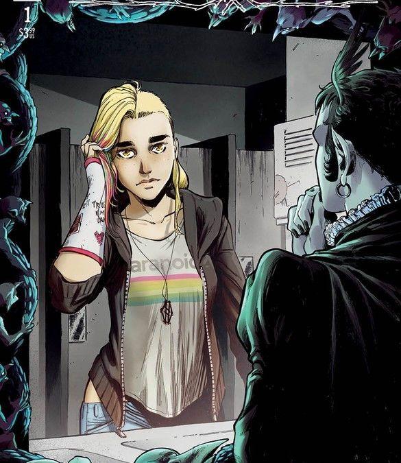 Image Comics Nomen Omen #1 Cover A by Jacopo Camagni