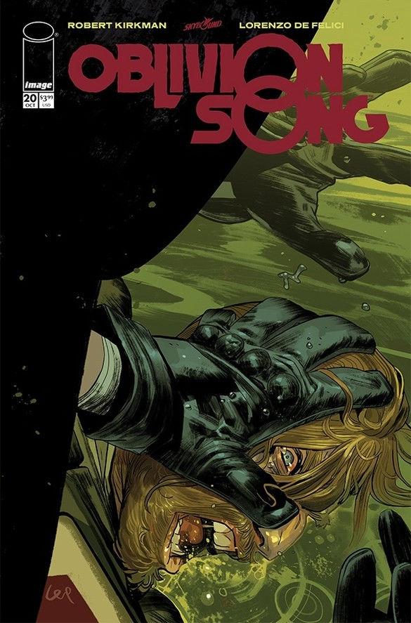 Image Comics & Skybound Entertainment Oblivion Song #20 Cover by Lorenzo De Felici