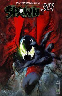 Image Comics Spawn #301 Cover M by Bill Sienkiewicz