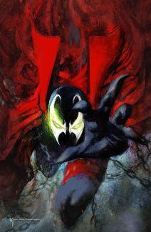 Image Comics Spawn #301 Cover N (Virgin) by Bill Sienkiewicz