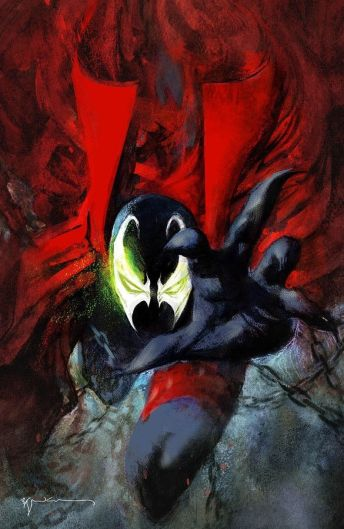 Image Comics Spawn #301 Cover N (Virgin) by Bill Sienkiewicz