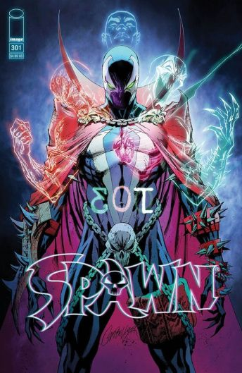 Image Comics Spawn #301 Cover O by J. Scott Campbell