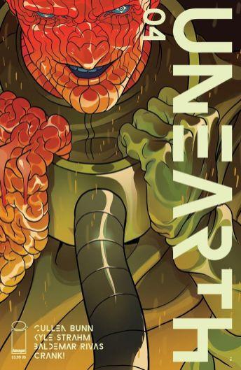 Image Comics Unearth #4 Cover A by Baldemar Rivas