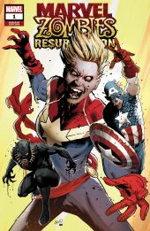 Marvel Zombies Resurrection (2019) #1 Cover C by Greg Land