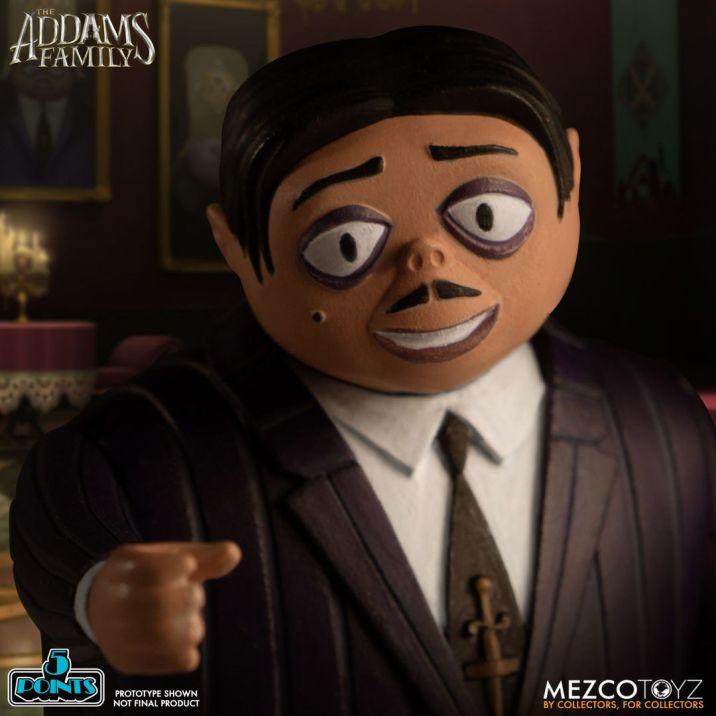 Mezco Toyz 5 Points The Addams Family (2019) Gomez Action Figure