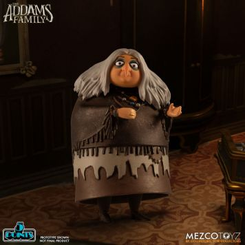 Mezco Toyz 5 Points The Addams Family (2019) Grandma Action Figure