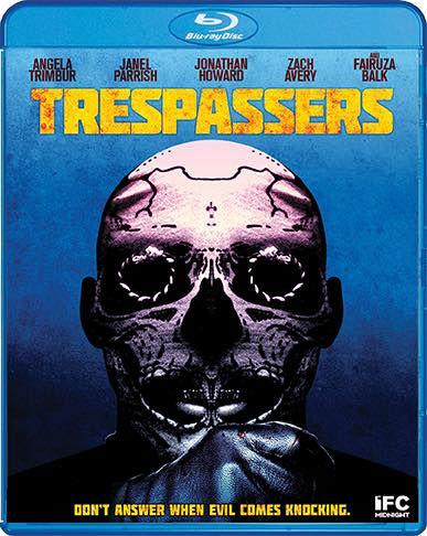 Scream Factory Trespassers (2019) Blu-ray Cover
