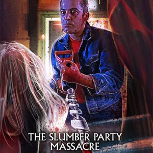 Scream Factory The Slumber Party Massacre (1982) Deluxe Limited Edition Steelbook Blu-ray Cover (Front)