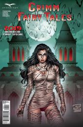 Zenescope Entertainment Grimm Fairy Tales 2019 Horror Pinup Special Cover A by Alredo Reyes