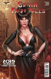 Zenescope Entertainment Grimm Fairy Tales 2019 Horror Pinup Special Cover C by Derlis Santacruz