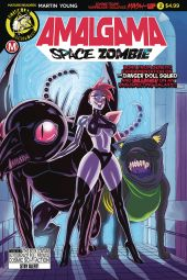 Action Lab Amalgama Space Zombie #2 Cover A by Winston Young