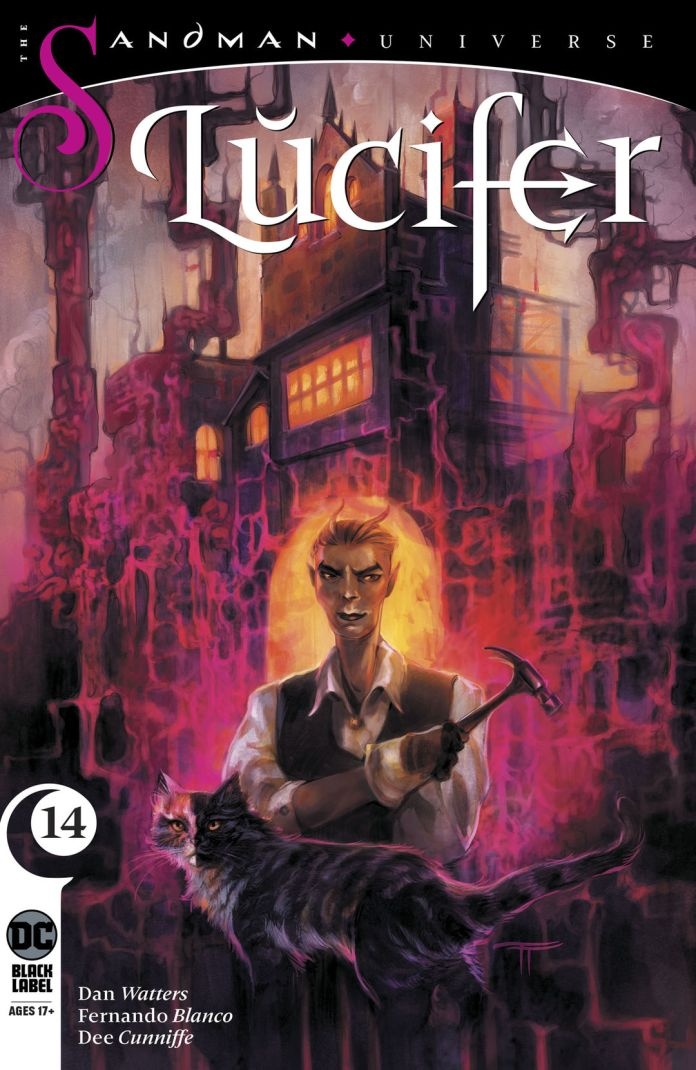 DC Comics Black Label Lucifer #14 Cover A by Tiffany Turrill