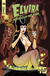 Dynamite Entertainment Elvira: Mistress of the Dark Cover A by Tim Seeley
