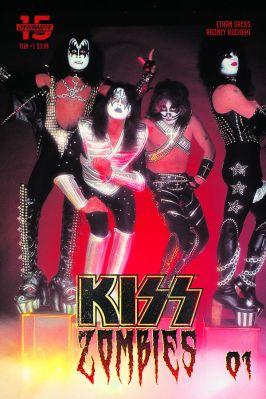 Dynamite Entertainment KISS Zombies Cover D (Photo)