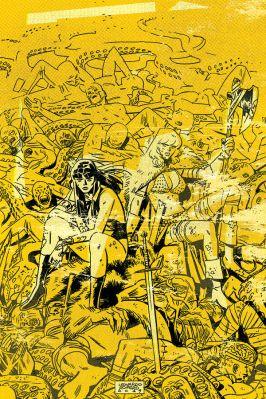 Dynamite Entertainment Vampirella/Red Sonja #3 Cover D (Virgin) by Leonardo Romero & Jordie Bellaire