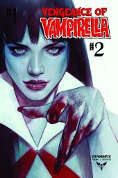 Dynamite Entertainment Vengeance of Vampirella #2 Cover B by Ben Oliver