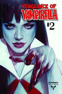 Dynamite Entertainment Vengeance of Vampirella #2 Cover B by Ben Oliver